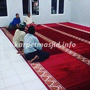 Harga Karpet Masjid Polos Merah