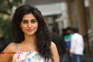 Actress Shamili Stills in Floral Short Dress at Sree Ramaraksha Song Launch 0203