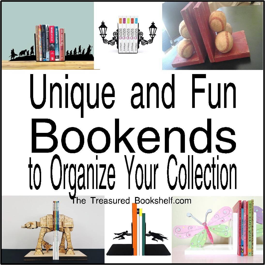unique and fun bookends to hold your books thetreasuredbookshelf