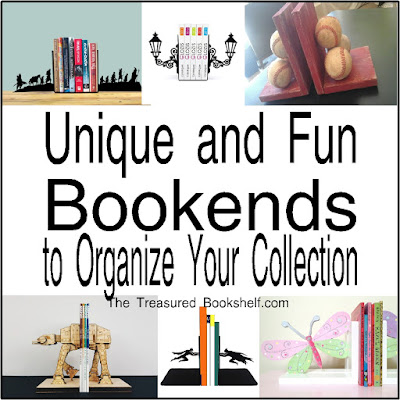 Keep your books organized with these fun bookends. There are all types of organizational treats with book themed bookends, movie themed bookends, quote bookends, sports bookends and more.