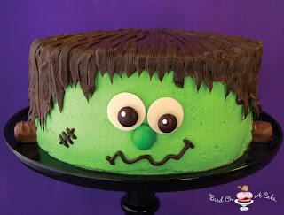 Resultado de imagen de frankenstein cake