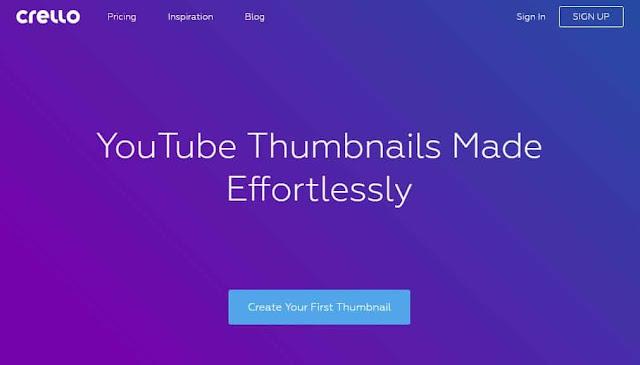 13 Situs Web Membuat Thumbnail Youtube Secara Online dan Gratis