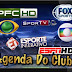 Agenda Esportiva da TV Segunda 04/06/2018