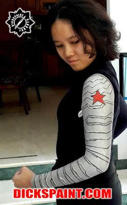 Body Painting Jakarta Bucky