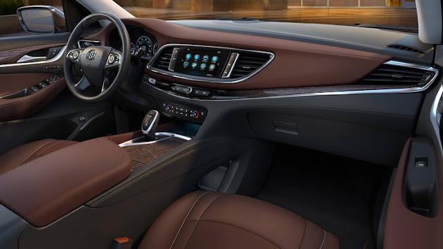 2018 New Buick Enclave Avenir Feel The luxury interior dashboard