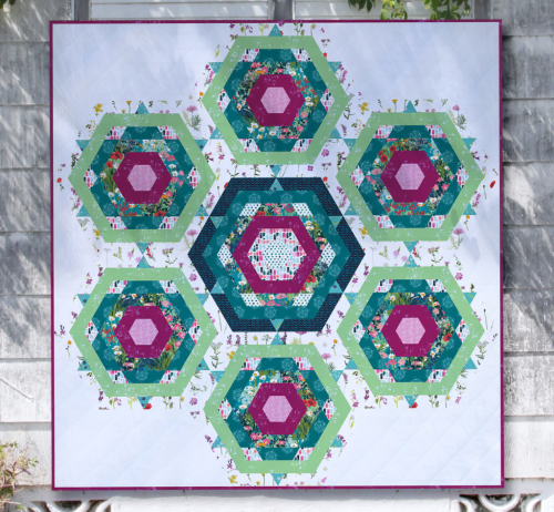 Hexies Quilt Free Pattern