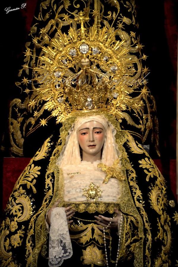 La Filarmónica de Pilas  acompañará a la Santísima Virgen de los Dolores de Paradas
