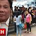 1000 Pinoy Na Niloko Ng Travel Agency, Sinagip Ng DU30 Gov't! Nakauwi Na!