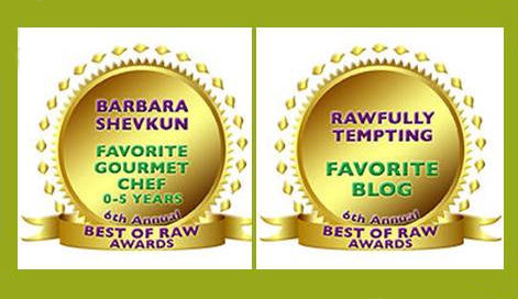6th Annual Best of Raw Award