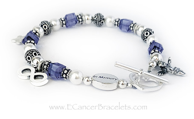 In Memory or Suicide Awareness Bracelets