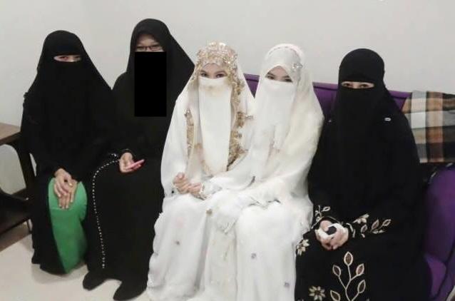 Gambar Pengantin Muslimah Berniqab Brad Erva Doce Info