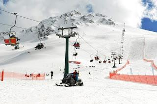 antalya'da gezilecek yerler salıkent kayak merkezi