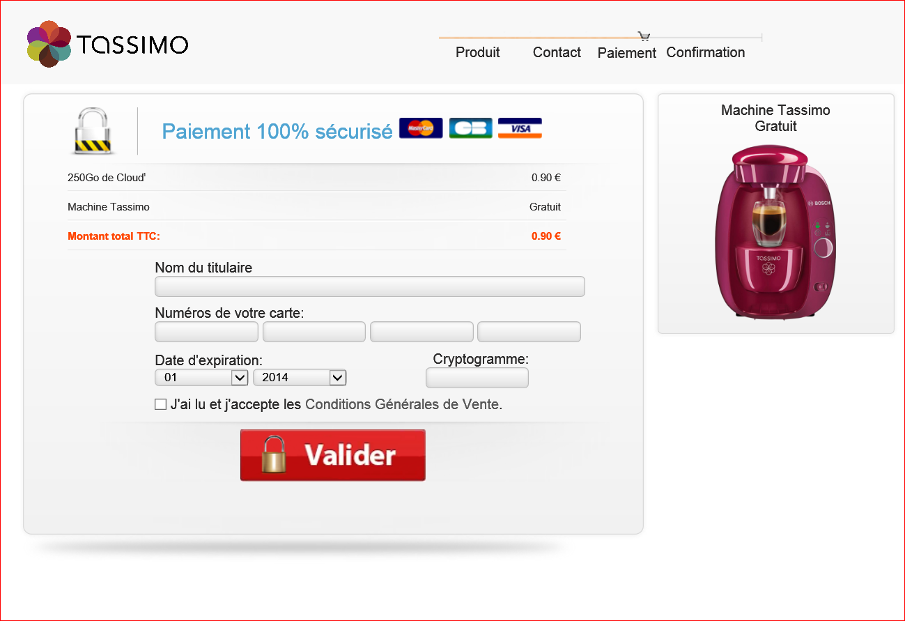 attention scam phishing une machine tassimo en. Black Bedroom Furniture Sets. Home Design Ideas