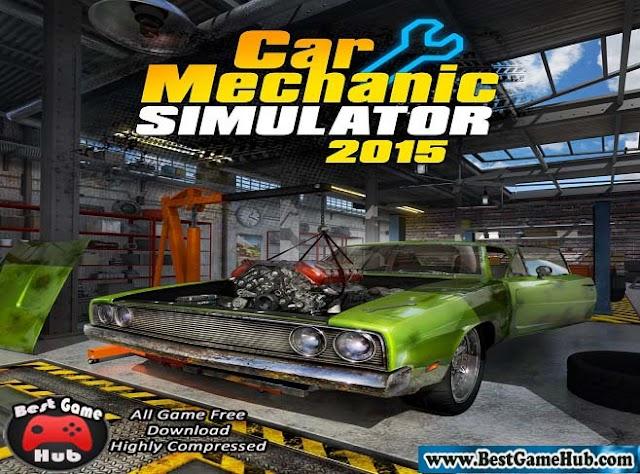 Car Mechanic Simulator 2015 Gold Edition PC Game Free Download