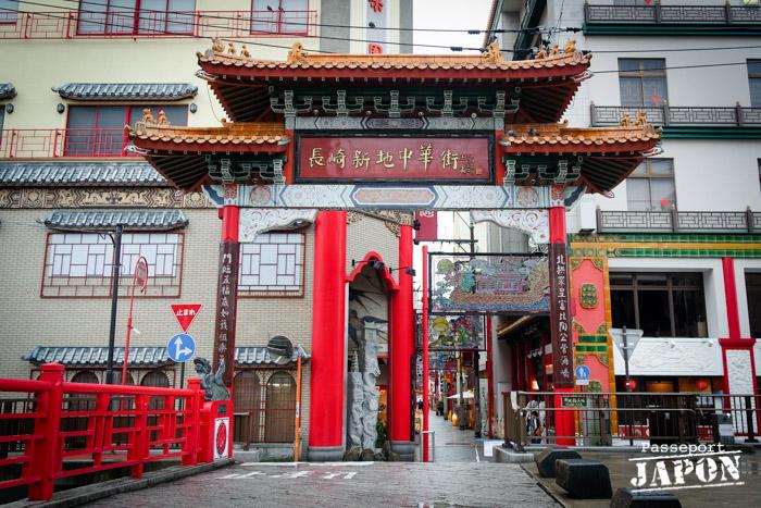 Porte rouge, Chinatown, Nagasaki