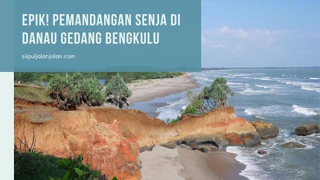 Epik! Pemandangan Senja di Danau Gedang Bengkulu