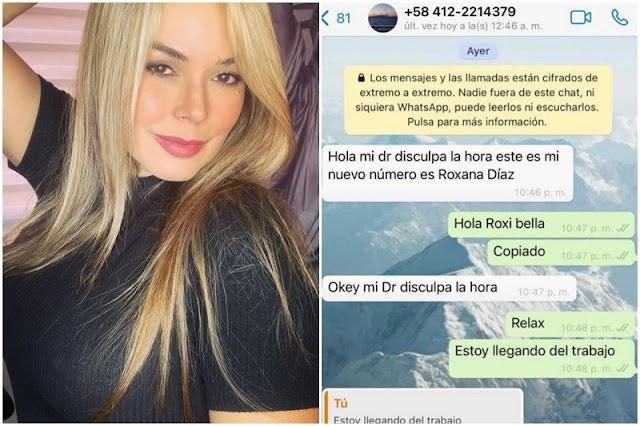 La famosa María le robó la identidad a Roxana Díaz para estafar a un médico