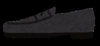 横から見た靴のイラスト(ローファー)