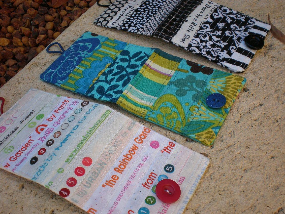 Sewing Tutorial: Make a Card Wallet