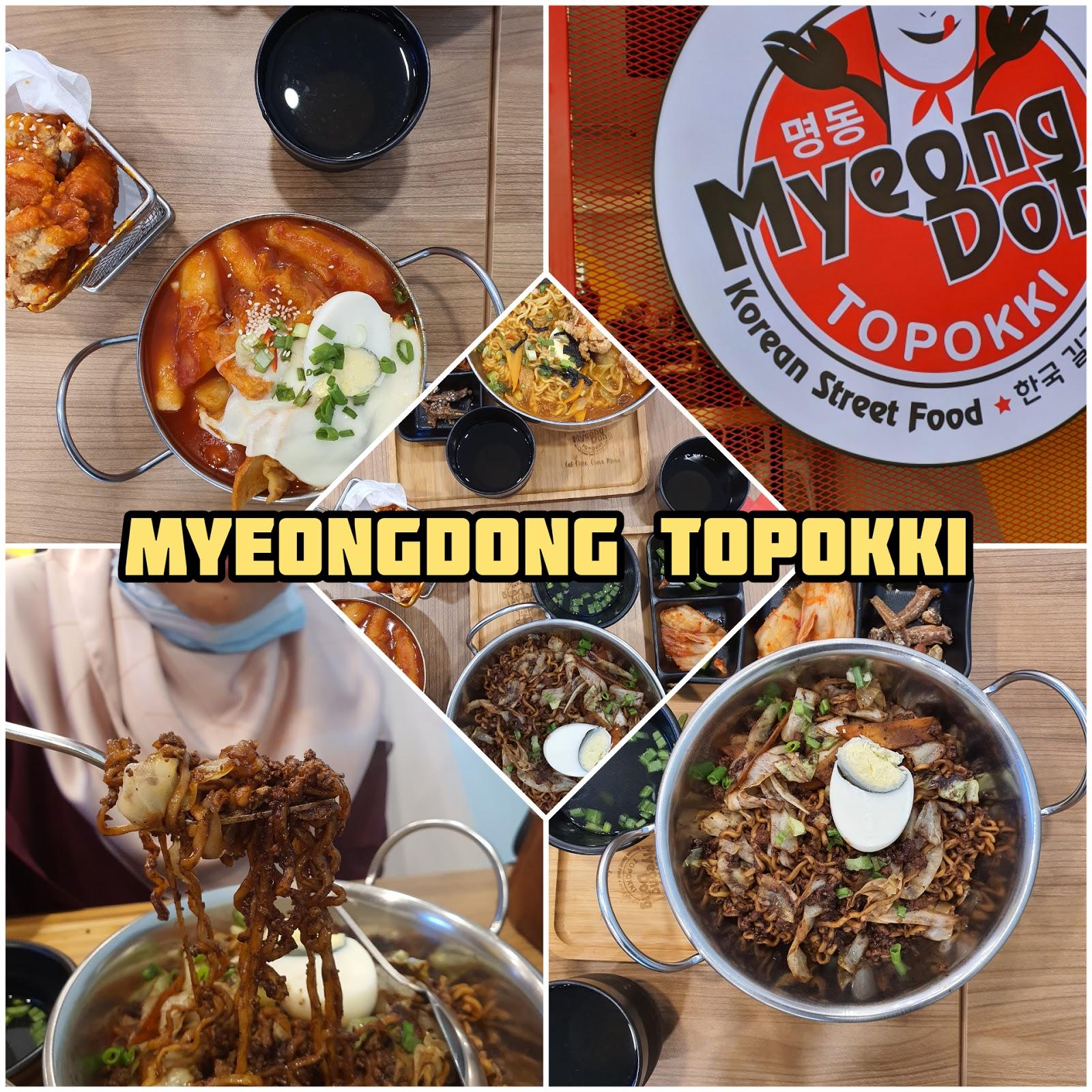MyeongDong Topokki : Restoran Street Food Korea di Pulau Pinang