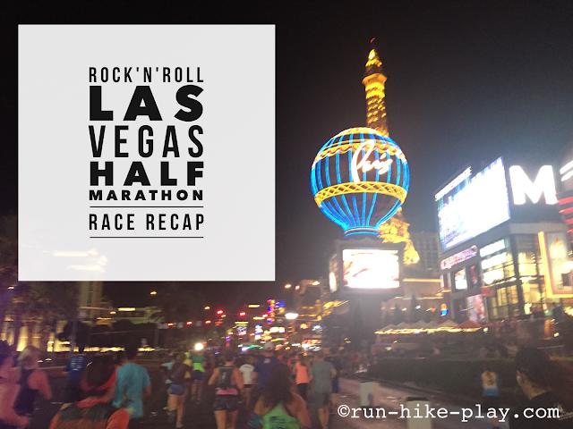 Rock'n'Roll Las Vegas Half Marathon Race Recap 11/13/16
