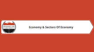 Economy & Sectors Of Economy