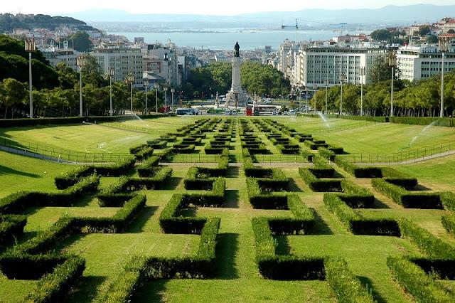Parque Eduardo VII em Lisboa