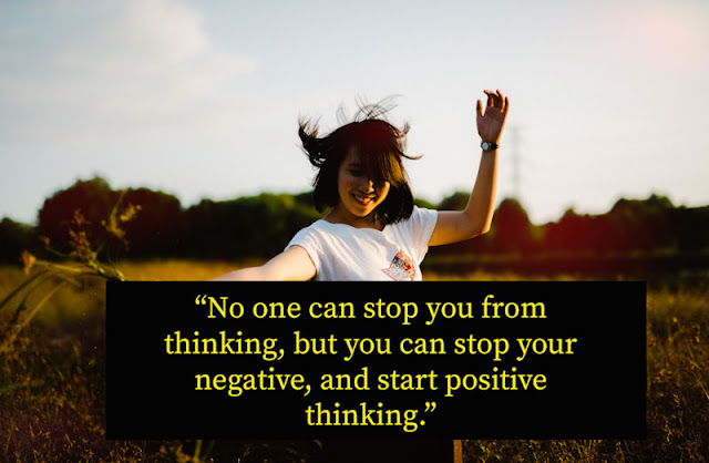 Positive thinking quotes for WhatsApp DP, with pictures