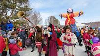 Праздпование масляницы Украина Переяслав фото
