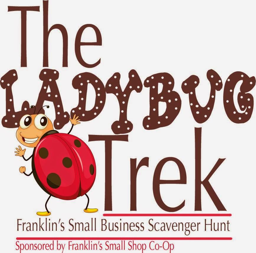 Ladybug Trek - Franklin's small  business scavenger hunt