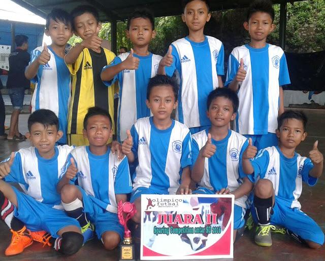 Tim Futsal MI Muhammadiyah 01 Watukebo