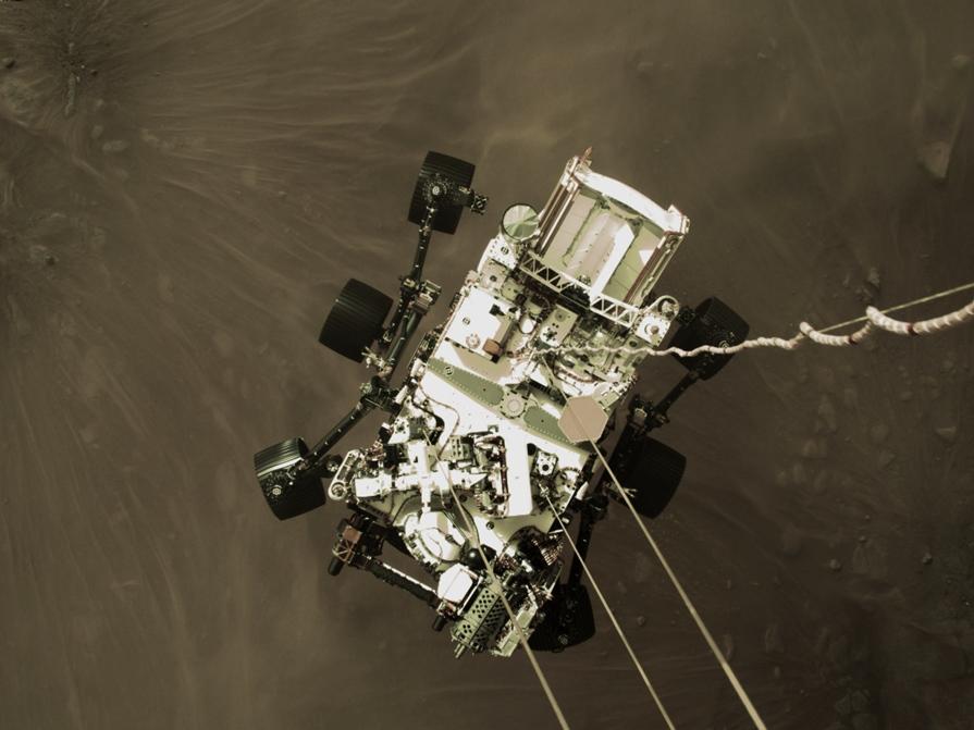 Najnowsze zdjęcia z Marsa 2021