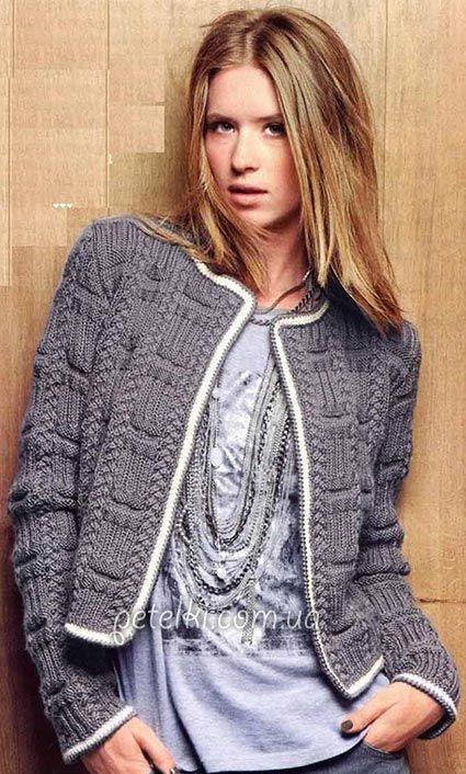 chanelowy sweterek