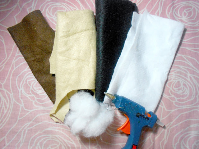 DIY animal backpack supplies