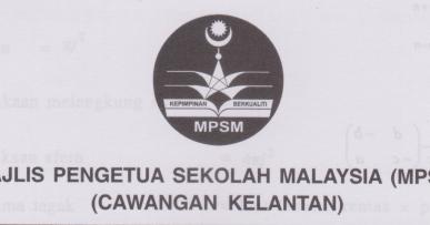 Koleksi Soalan Percubaan Spm Matematik 2017 Skema Jawapan Kelantan Pendidikanmalaysia Com