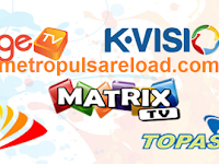 Harga Voucher TV Prabayar Murah Orange TV, BIG TV, K-VISION TV