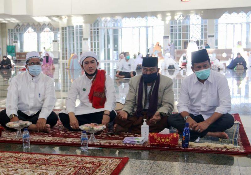 Sambut Tahun Baru Islam 1442 Hijriah, Zikir dan Doa Bersama Berlangsung Khidmat di Masjid Agung Batam Center