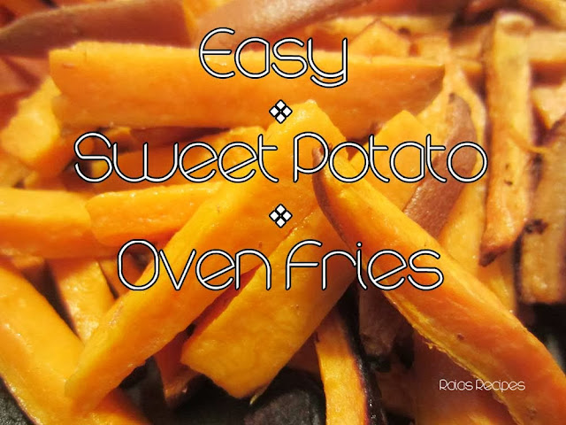 how to make easy sweet potato fries