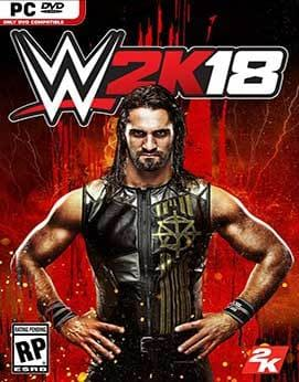 WWE 2K18 Torrent torrent download capa