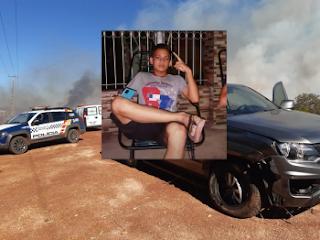Adolescente morre em acidente entre moto e caminhonete em Bom Jardim