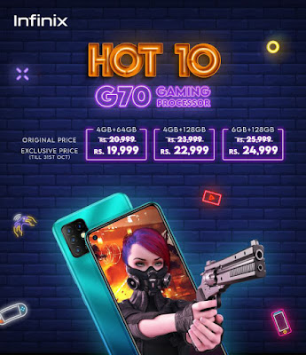 The wait is Over; Infinix Hot 10 is Available now for Pre-orders