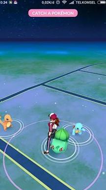 Game terbaru android antara Pokemon GO dan musuhnya