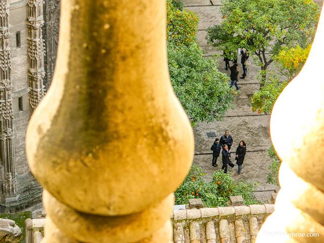Sevilha, Andaluzia: Pátio de los Naranjos, Catedral de la Giralda