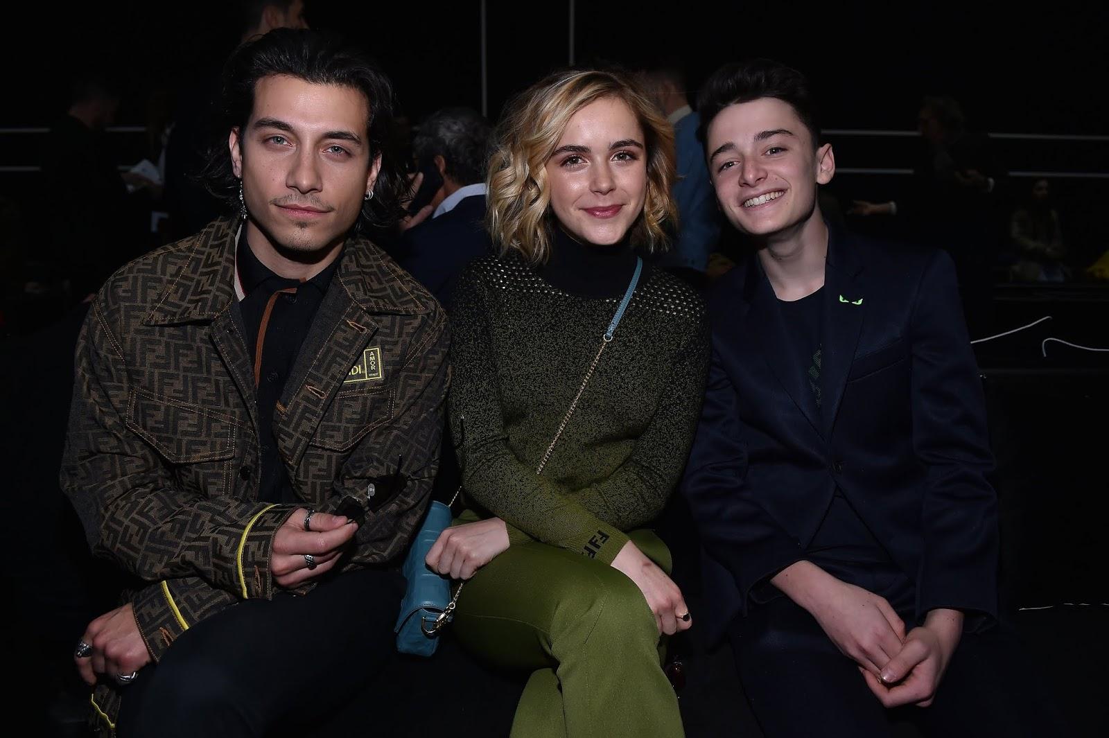 Kiernan Shipka - Fendi Menswear Fashion Show - Milan - January 14th 2019