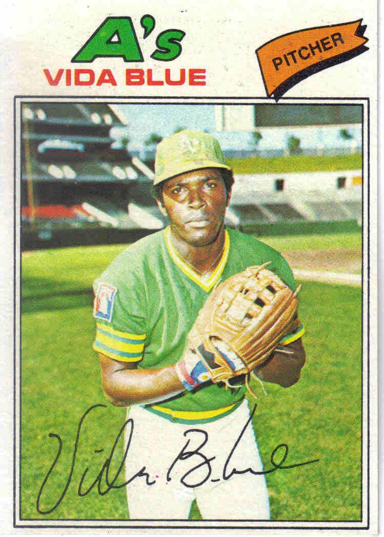 Baseball 1977 1977 Topps Baseball 230 Vida Blue