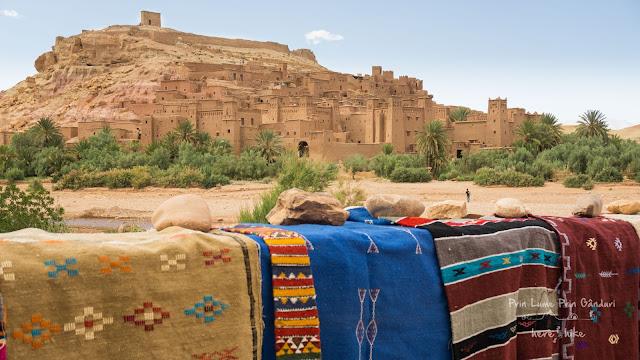 morocco sahara desert Ait Benhaddou 1