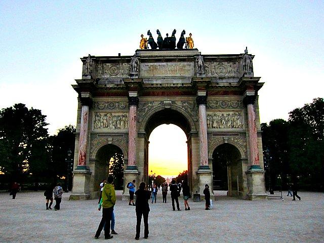 Carrousels triumfbåge i Paris