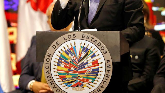 Uruguay se retira de la Asamblea de la OEA por una discusión sobre el representante de Guaidó