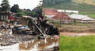 Bencana banjir bandang di Garut