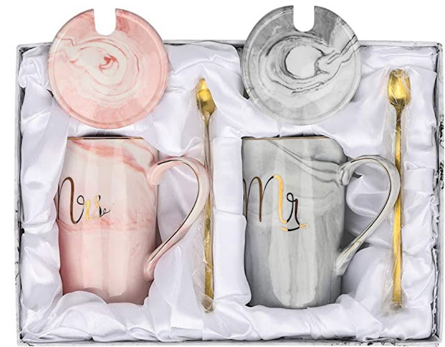 Ceramic Marble Coffee Cups